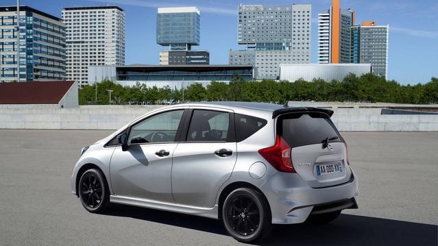 Nissan Note Black Edition : une urbaine avec des touches de noir