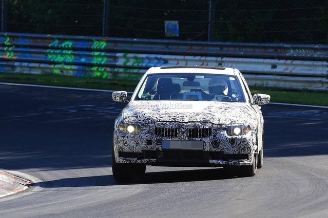 Surprise : la prochaine BMW Série 3 affronte le Nürburgring