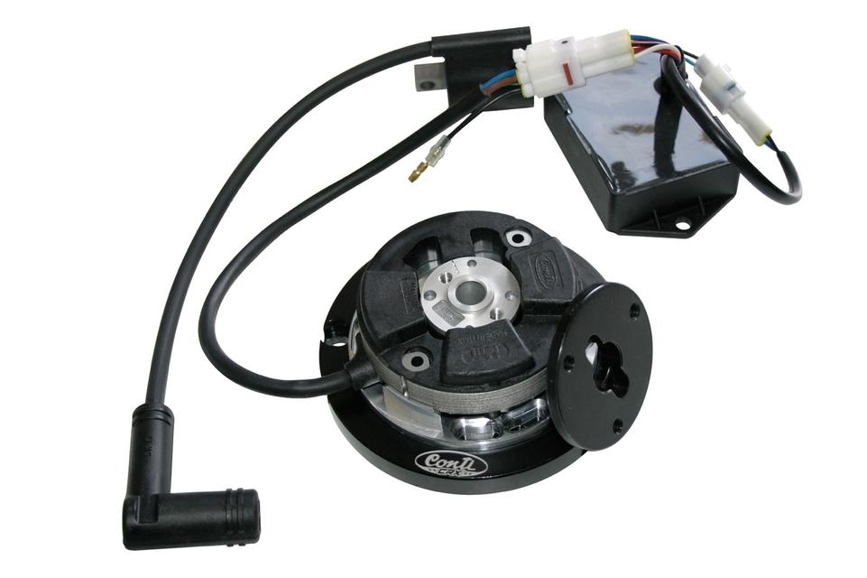 Accessoire Conti : Un allumage à rotor interne pour scooter