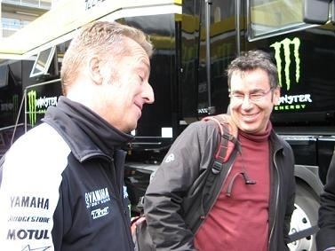 Moto GP - France: Interview de Rémy Tissier pour les 20 ans d'Eurosport