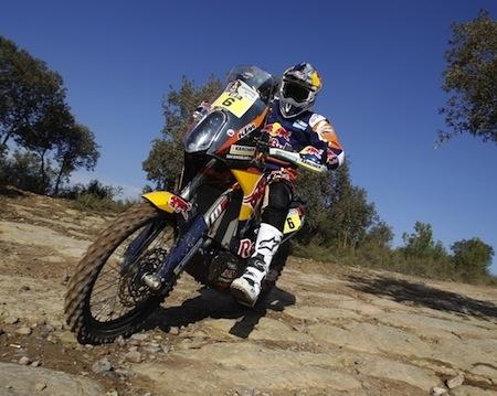 Le team KTM Red Bull Factory Racing fin prêt à prendre le départ du 36ème Dakar