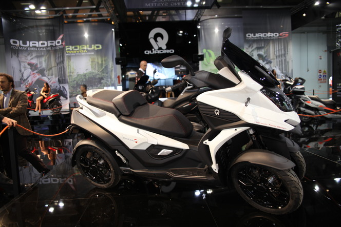 Quadro 4 : le premier scooter 4 roues arrive au printemps 2015