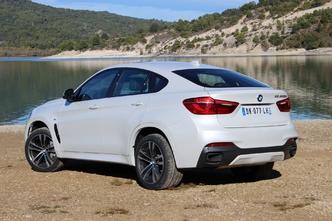 BMW X6 (F16)  : en avant-première, les photos de l'essai