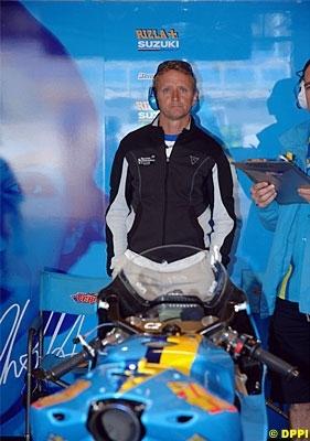 Moto GP: Suzuki: Schwantz s'impatiente.