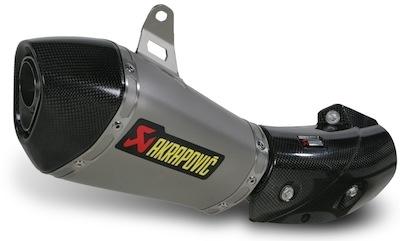 Kawasaki ZX-10R 2011: le silencieux Akrapovic dispo avant la moto...