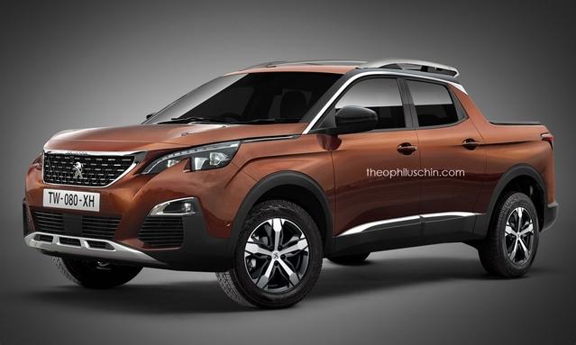 Design : un graphiste imagine un pick-up Peugeot