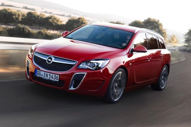Toutes les nouveautés du salon de Francfort 2013 - Opel Insignia OPC restylée