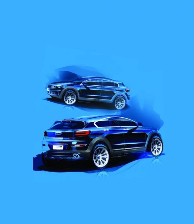 Le nouveau Qoros 3 City SUV en mode teasing