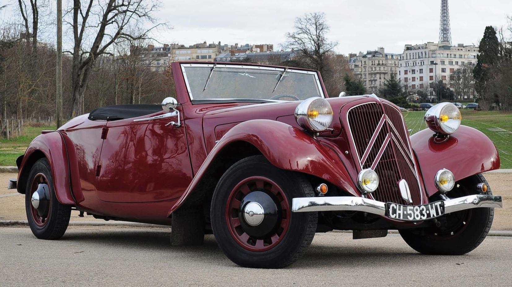Voiture de collection : la folie Citroën aux enchères
