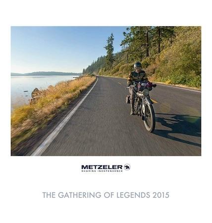 "Calendrier Metzeler 2015: ""The Gathering of Legends"""