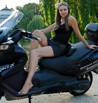 Moto & Sexy : Suzuki Burgman 650