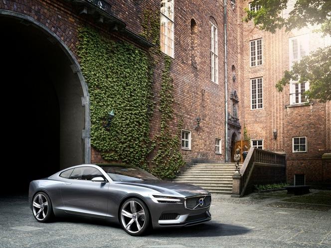 Toutes les nouveautés de Francfort 2013 -  Volvo Concept Coupé, une P1800 du futur