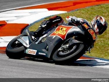 Moto GP - Honda: Pour son retour, Melandri n'a pas chômé