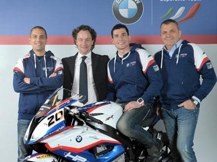 Superbike - 2015: Barrier quatrième Français et avec BMW