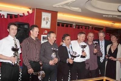 La remise des prix de l'ICGP 2010 pour clôturer la saison.