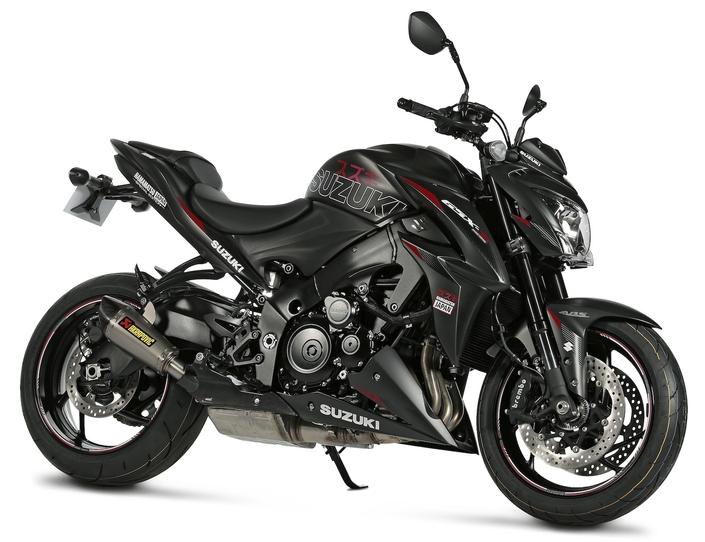 Série limitée: 2 GSX-S1000 Team Suzuki