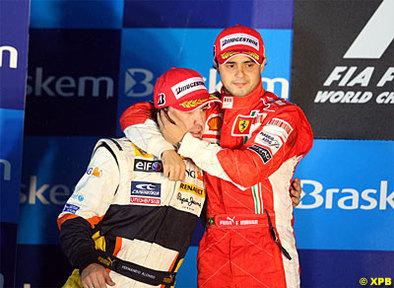 Formule 1 - Alonso: Fernando, meilleur pilote de l'année pour l'Italie