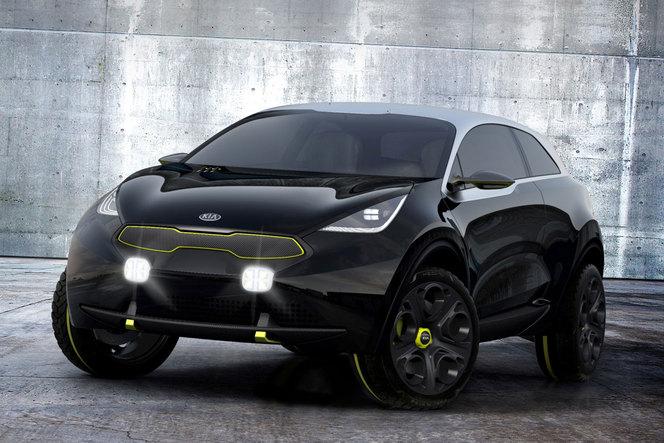 Toutes les nouveautés de Francfort 2013 -  Kia Niro Concept