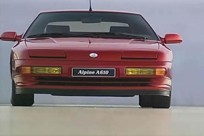 Alpine A610 Turbo : Bleu, blanc… rage !
