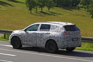 Surprise : le prochain SUV Honda CR-V en balade