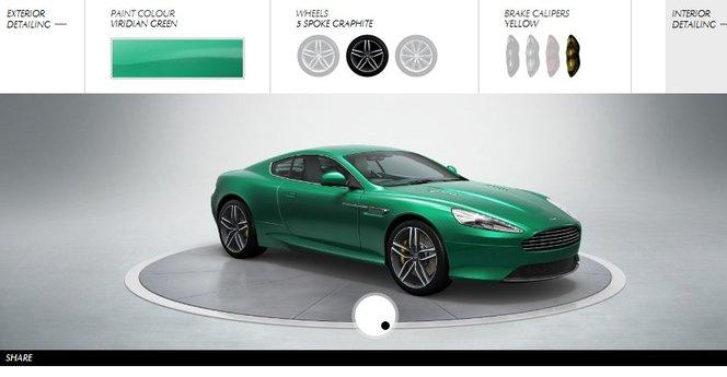 Rêvez : Aston Martin lance son configurateur avec la Virage et la Cygnet