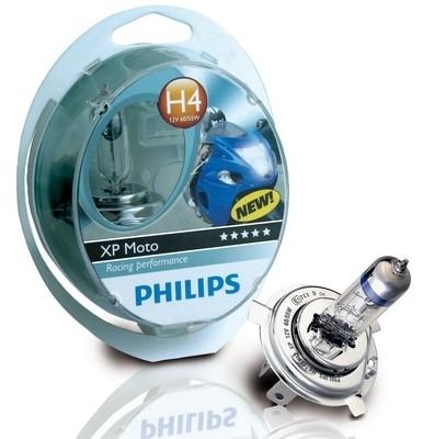 Philips augmente votre vision nocturne avec son ampoule XP Moto.
