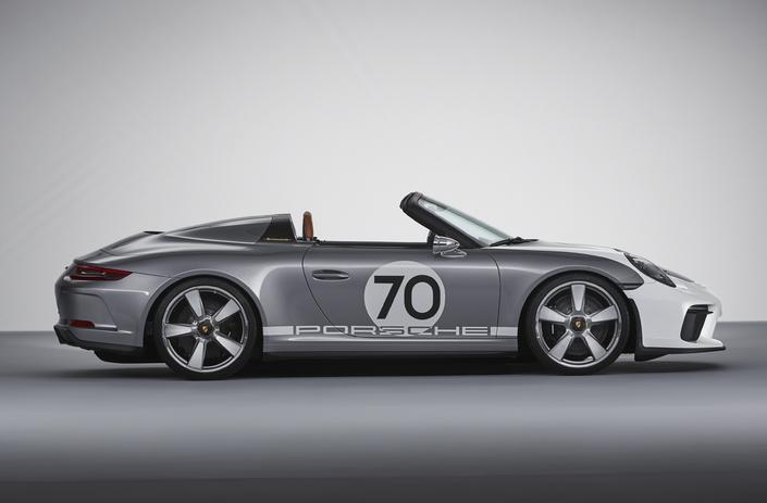 Porsche fête ses 70 ans avec une inédite 911 Speedster