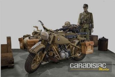 Vente aux enchères de véhicules militaires: un scooter Cushman adjugé plus de 140 000 euros...