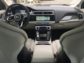 L'intérieur du nouveau Jaguar I-Pace.