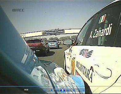 WTCC: Lourde sanction pour Zanardi