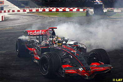 Formule 1 - Hamilton: La rigueur a eu raison de la fête