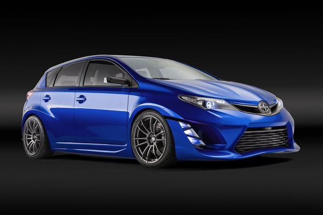 Los Angeles 2014 : Scion iM concept, une Toyota Auris méchante