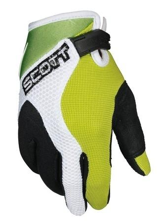 Scoot fait un ensemble complet Anaheim pour les gosses : pantalon, maillot et gant.