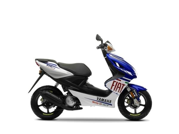 Nouveauté Scooter 2009 : Le Yamaha Aerox 50 cm3 Race Réplica