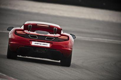McLaren MP4-12C: 625 ch dont 25 ch gratuits
