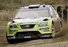 WRC: Nouvelle Zélande D.1: Marcus a joué les durs contre un Seb trop tendre