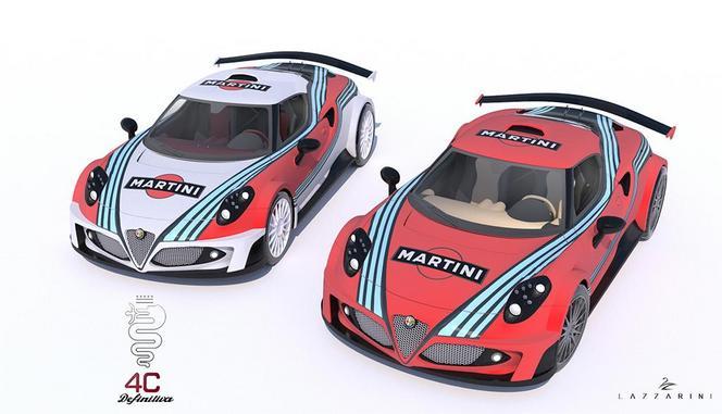 Une Alfa Romeo 4C de 738 ch à moteur V8 Ferrari: c'est possible!