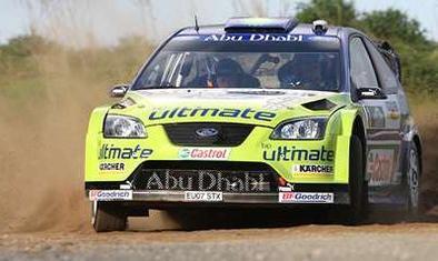 WRC: Nouvelle Zélande D.1: Un bon grip pour Marcus malgré une grippe