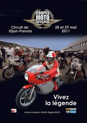 Coupes Moto Légende 2011 : les inscriptions sont ouvertes.