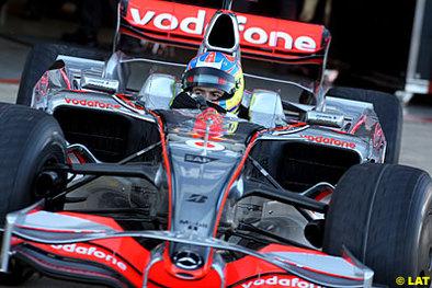 Formule 1: Di Resta s'y voit