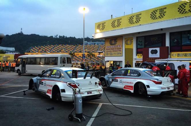 (Vidéo) Dans l'enfer de Macao avec les pilotes Citroën et le WTCC