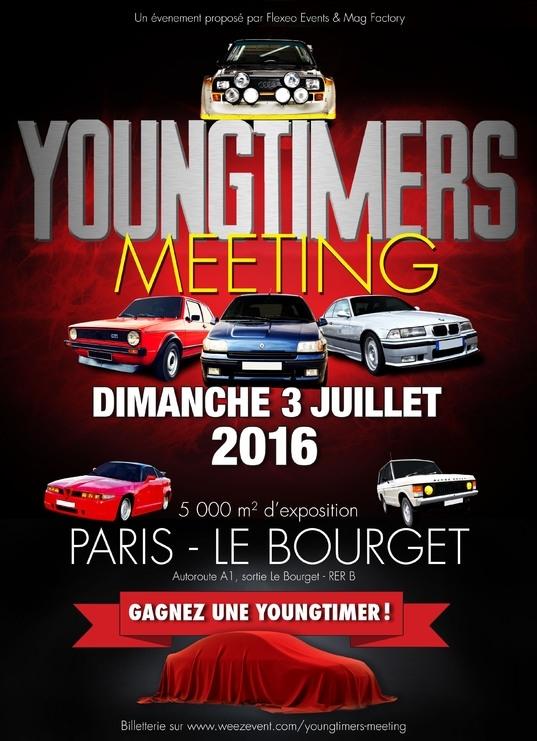 Dimanche, les youngtimers tiennent salon au Bourget