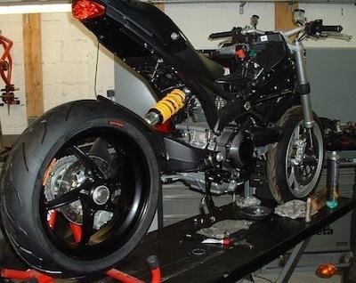 Antibes Engineering: une nouvelle Ducat' en préparation.