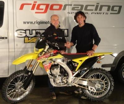 Enduro mondial : L'Italien Alessio Paoli sur une 250 Suzuki
