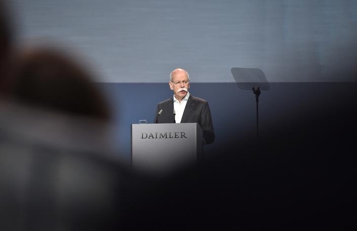 Dieter Zetsche, patron du groupe Daimler.