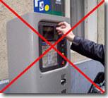 Stationnement :   la fin du paiement à pièce