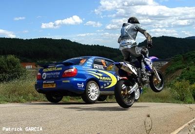Arsouille Live : Yamaha WR450F contre Subaru Impreza Gr N. 3/3