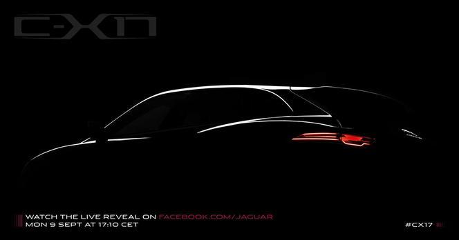 Toutes les nouveautés du salon de Francfort 2013 - Jaguar C-X17 SUV: que le teasing commence comme sur une musique de The Doors!