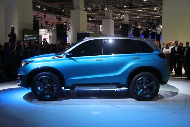 En direct du salon de Francfort  2013 - Suzuki iv4 : le nouveau visage de Suzuki