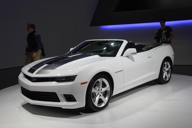 Vidéo en direct du salon de Francfort  2013 - Chevrolet Camaro restylée : l'Amérique à prix sympa